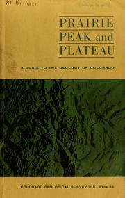 Cover of: Prairie, peak, and plateau