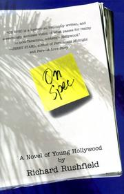 Cover of: On Spec: A Novel of Young Hollywood