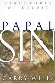 Cover of: Papal Sin: structures of deceit