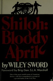 Cover of: Shiloh: bloody April