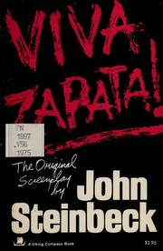 Cover of: Viva Zapata!: The original screenplay.