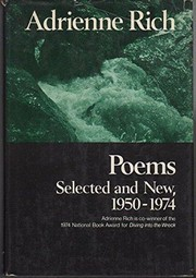 Cover of: Poems: selected and new, 1950-1974