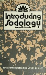 Cover of: Introducing sociology