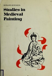 Cover of: Studies in medieval painting
