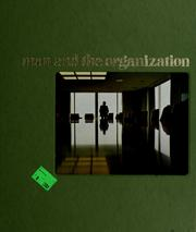 Cover of: Man and the organization