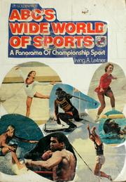 Cover of: ABC's wide world of sports