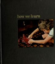 Cover of: How we learn