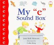 "Cover of: My ""e"" sound box"