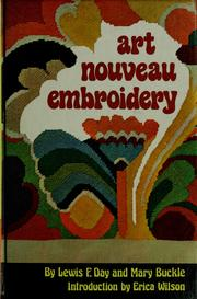 Cover of: Art nouveau embroidery =: Art in needlework