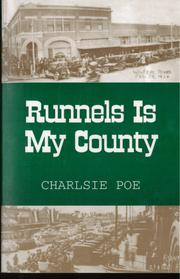 Cover of: Runnels is my county
