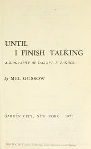 Cover of: Don't say yes until I finish talking