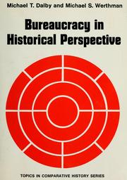Cover of: Bureaucracy in historical perspective