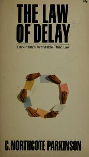 Cover of: The law of delay