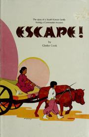 Cover of: Escape!
