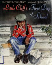 Cover of: Little Cliff's first day of school