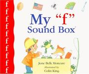 "Cover of: My ""f"" sound box"