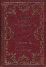 Cover of: Brieven over litteratuur