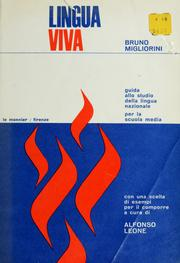 Cover of: Lingua viva