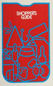 Cover of: Shopper's guide
