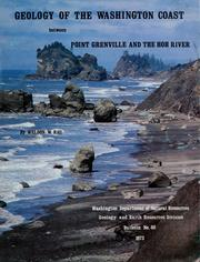 Cover of: Geology of the Washington coast between Point Grenville and the Hoh River