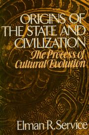 Cover of: Origins of the state and civilization