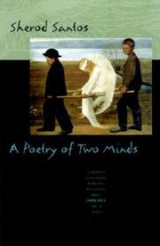 Cover of: A poetry of two minds