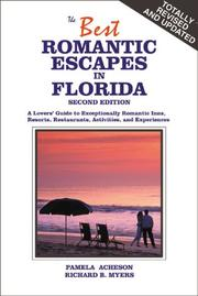 Cover of: The best romantic escapes in Florida