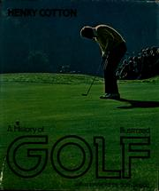 Cover of: A history of golf illustrated