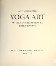 Cover of: Yoga art