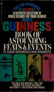 Cover of: Guinness book of astounding feats & events