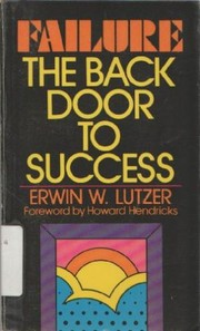 Cover of: Failure, the back door to success