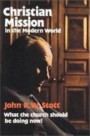 Cover of: Christian mission in the modern world