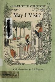 Cover of: May I visit?