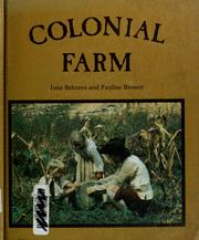 Cover of: Colonial farm