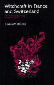 Cover of: Witchcraft in France and Switzerland