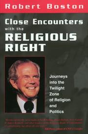 Cover of: Close encounters with the religious right