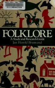 Cover of: Folklore