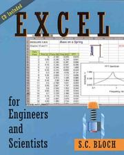 Cover of: Excel for engineers and scientists