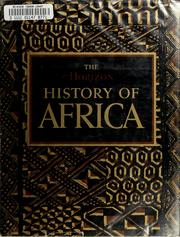 Cover of: The Horizon history of Africa