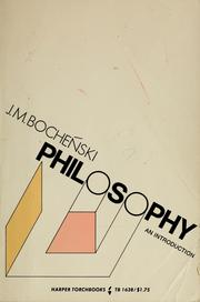 Cover of: Philosophy