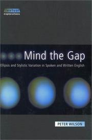 Cover of: Mind the gap