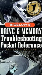Cover of: Bigelow's drive and memory troubleshooting pocket reference