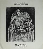 Cover of: Henri Matisse