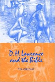 Cover of: D.H. Lawrence and the Bible