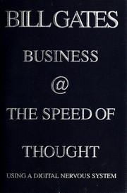 Cover of: Business @ the speed of thought