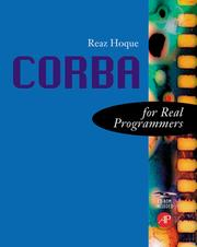 Cover of: CORBA for real programmers