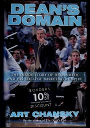 Cover of: Dean's domain: the inside story of Dean Smith and his college basketball empire
