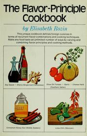 Cover of: The flavor-principle cookbook