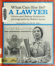 Cover of: What can she be? A lawyer