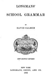 Cover of: Longmans' school grammar